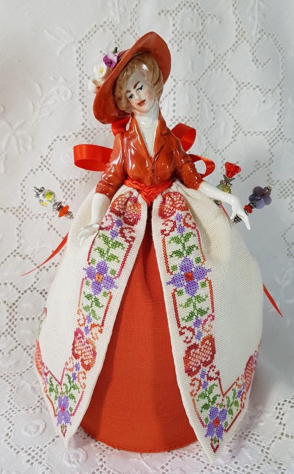 Rossella Pincushion Capodimonte doll
