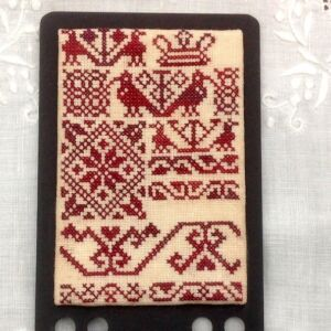embroidered hornbook icelandic style