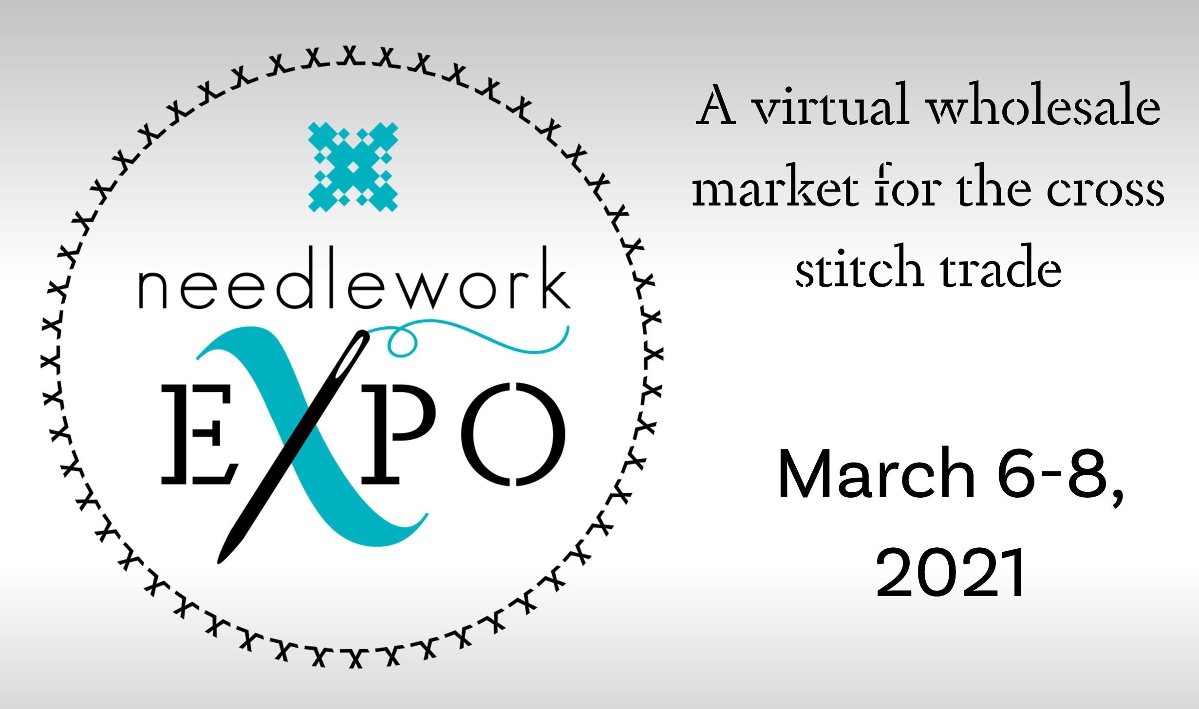 needlework expo virtual wholesale market for cross stitch trade 2021